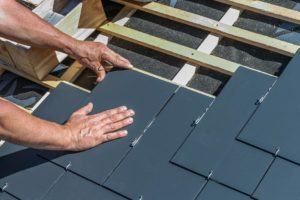 attaching roof shingles